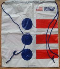 factory price customized plastic drawstring bag