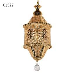 C1377 antique crystal chandelier parts, light guangzhou, golden chandelier lighting