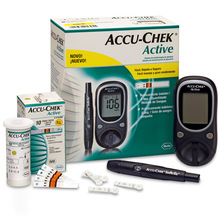 DIABETIC BLOOD GLUCOSE METERS (ACCUCHECK ACTIVE, GO, NANO, STRIPS)