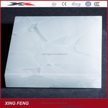 White jade glass and recycle glass for interior decoration 20mm 30mm