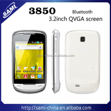 sami WHITE 3.2Inch touch screen quad band unlocked dual cards MOBILE Phone