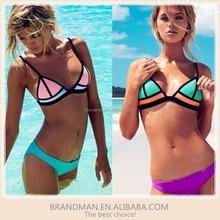 2016 new Hot Promotion Beatiful Sexy Bikini Women neoprene Swimsuits