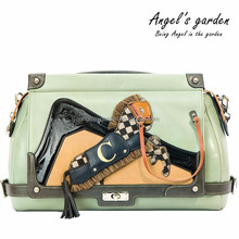 Pony shoulder ladies bag handbag Zip detachable strap AG15CDS06MIN