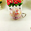 Decorative candy chocolate packaging ball-shaped wedding favor tin can
