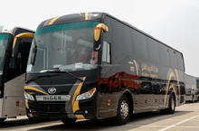 TRAVELING long distance coach bus for sale