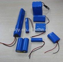 Li-ion Battery Pack 18650 7.2V 5200MAH Lithium ion Battery