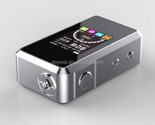 2015 best selling vapor mod variable voltage vaporizer smy60 tc 60w temp control box mod pk vapor flask temperature control