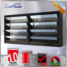 Common sun reflective aluminum window louver prices for residential house