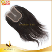 2013 New Style Natural Straight Clip In Top Closure Can Be Dyed Any Color