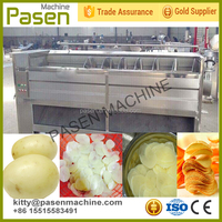 Fully automatic potato chips production line / potato flakes production line / potato chips making machine line