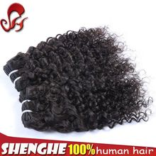Alibaba wholesale unprocessed deep curl remy hair weaving Brazilian remy hair