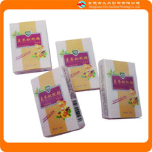 2015 Alibaba hot sale custom small clear plastic candy box