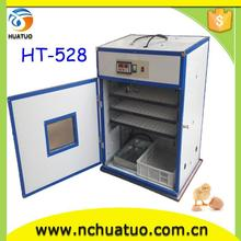 automatic poultry hatchery capacity 528 chicken/quail /duck/goose incubator