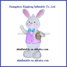 Inflatable Easter Bunny/ inflatable Easter decorations/advertising cartoon for the holiday