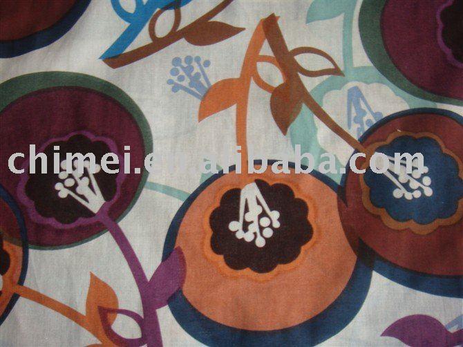 2015 jiaxing popular pattern printed cotton fabric