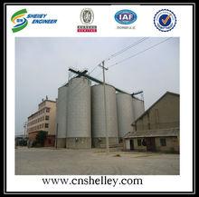 500 toneladas de cebada de almacenamiento de grano los silos de los precios
