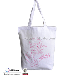 2015 shopping tote cotton bag with handle,promotion cotton tote bag with gusset,heavy shopping canvas bag tote bag
