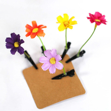 Novelty Flower Hairpin 12pcs/lot, 3inch Heigh Flower Bean Sprout Hairpin