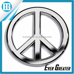 Personalized Custom car logo emblem metal emblem, High-Quality cheap custom chrome Car Emblem