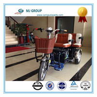 three wheel electric tricycle for cargo with big carriage