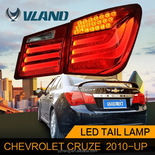 Tail light type and e-mark CCC ISO9001 certification tail light for chevrolet cruze led rear lamp