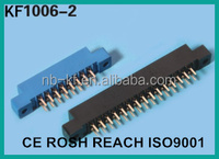 3.96mm 24pin 30pin 36pin 40pin 44pin 56pin 64pin 72pin blue clour gold plated dip type edge card connector