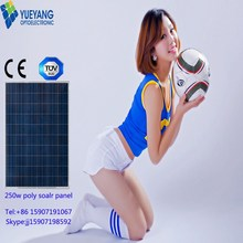 High Efficiency Good Price Solar Panel solar wafer pump power poly solar panel module for Solar System with TUV
