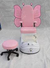 Populares kid pedicura spa silla de salón de los niños
