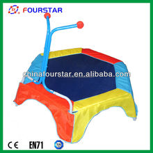 hexagonal trampoline, mini trampoline, kids indoor trampoline bed