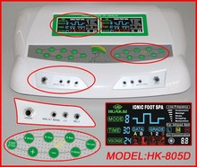 2015 The New Generation 3 Dual Multifuctional Detox Ion CHI Foot Spa With Low Frequency And Far Infrared Belt For Home