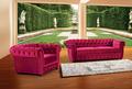 Preço de fábrica de veludo do sofá chesterfield, sofá da tela clássica ms- 01#