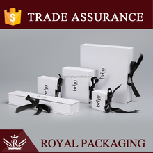 Jewelry box manufacturers china leather jewelry packaging box for necklace bracelet earring Jewelry