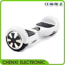White 2 wheel smart balance electric scooter with bluetooth music