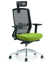 Sunshine Furniture Mesh Material High Back Executive Chair Office Chairs Without Wheels