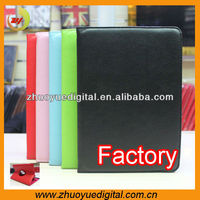 Universal tablet lichi pattern grain folio stand leather case for 7inch 8inch 9inch 9.7inch 10.1 inch tablet