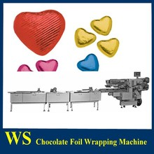 Auto Chocolate Foil Packaging Line with chocolate production line