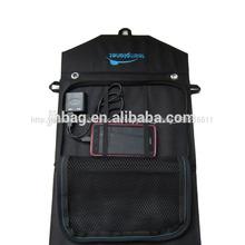 18w plegable cargador solar para el teléfono inteligente