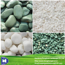 Decorative landscaping blue stones, White stone, White rocks landscaping 3-120mm