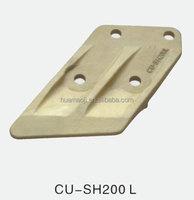 excavator cutting edge end bit/quad cut drill bit/dozer parts