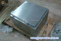 Stainless steel junction box enclosure
