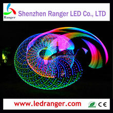 battery powered LED Hula Hoop,1Led Hula Hoops, led glow hula hoops