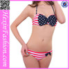 Swimwear Womens 2015 Flag Bikini Wholesale