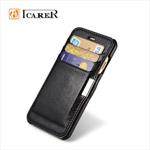 Wallet Leather Mobile Phone Cover Case For Apple iPhone 6 With Card Slot