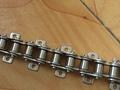 Doble tono de acero inoxidable Hollow Pin cadenas con grandes Roller ( 2042hp, 2052hp, 2062hp, 2082HP )
