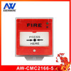 Call point for emergency fire alarm system conventional