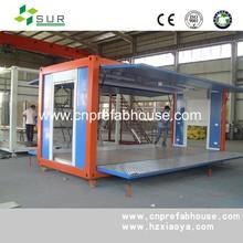 expandable outdoor kiosk shop