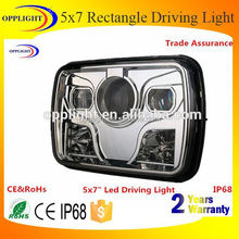 5x7 inch 45w rectangle DC 24v led sealed beam