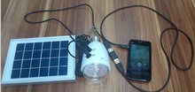 Solar Lights to Recharge Mobile Phones As Power Bank and Normal Lights