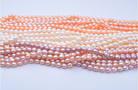 8-9mm AAA Perfect Round White Freshwater Loose Pearl
