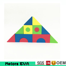 Melors Branded creative eva building brick toy for baby enlighten